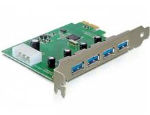 MIT 4Port PCIe High Speed USB 3.0 Adapter Card